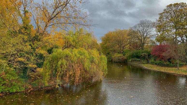 Wunderbare Herbstfarben im St. Stephen's Green